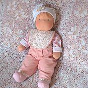 Куклы и игрушки ручной работы. Ярмарка Мастеров - ручная работа Текстильная кукла Малыш. Handmade.