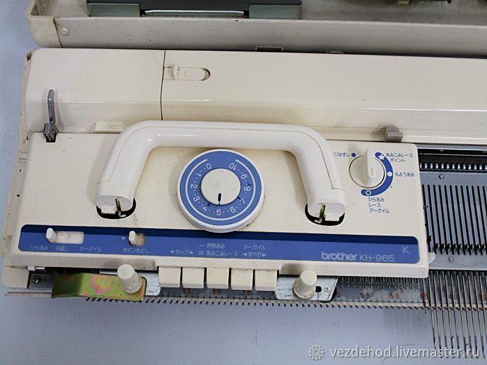 КАБЕЛЬ В ПОДАРОК ! Brother KH 965i  Япония вязальная машина – купить в интернет-магазине на Ярмарке Мастеров с доставкой