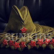 Пилотки ручной работы. Ярмарка Мастеров - ручная работа Военная пилотка. Handmade.