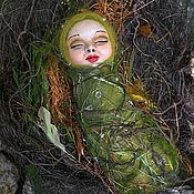 Куклы и игрушки ручной работы. Ярмарка Мастеров - ручная работа Сон эльфочки. Handmade.