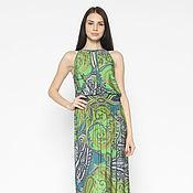Одежда handmade. Livemaster - original item The dress is made of silk viscose coupon (art. 2525). Handmade.