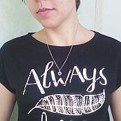 """Одежда ручной работы. Ярмарка Мастеров - ручная работа Топ женский """"Always"""". Handmade."""