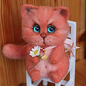Куклы и игрушки handmade. Livemaster - original item fat cat ginger. Handmade.
