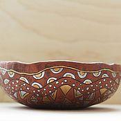 Посуда ручной работы. Ярмарка Мастеров - ручная работа Конфетница керамическая. Handmade.