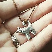 Украшения handmade. Livemaster - original item Silver Cat pendant. Handmade.
