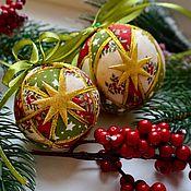 Подарки к праздникам ручной работы. Ярмарка Мастеров - ручная работа Новогодние шары. Handmade.