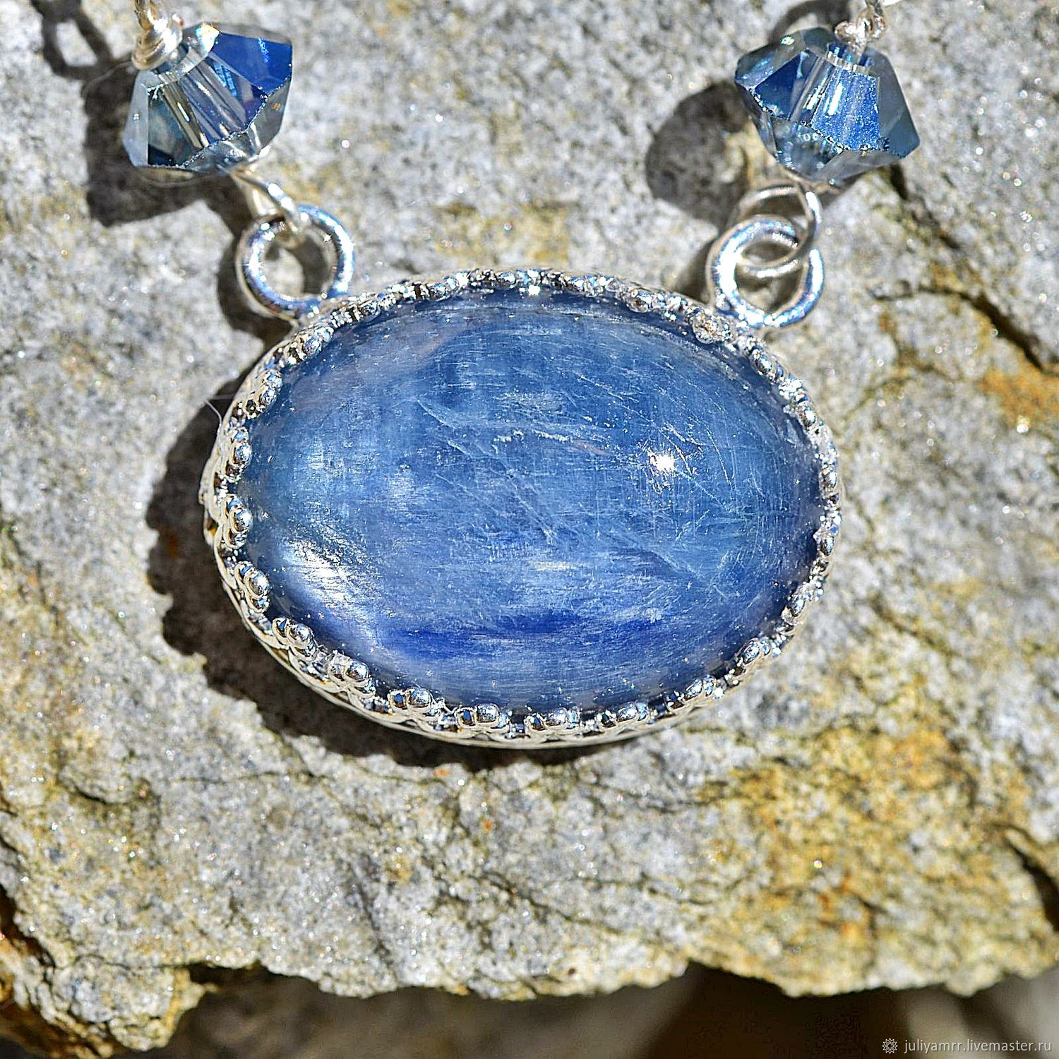Necklace with kyanite, Necklace, Bergen,  Фото №1