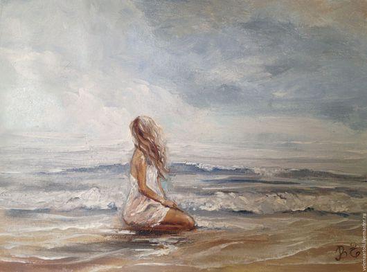 Девушка и море. Вдовиченко Елена