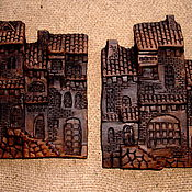 Сувениры и подарки ручной работы. Ярмарка Мастеров - ручная работа лепные магнитики. Handmade.