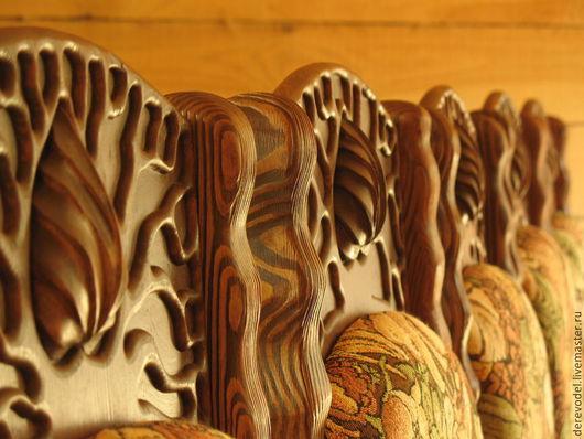 Мебель ручной работы. Ярмарка Мастеров - ручная работа. Купить Эксклюзивный стул ручной работы из лиственницы. Handmade. Стул, для кухни