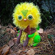 """Мягкие игрушки ручной работы. Ярмарка Мастеров - ручная работа Авторская игрушка """"Зайчик-одуванчик"""". Handmade."""
