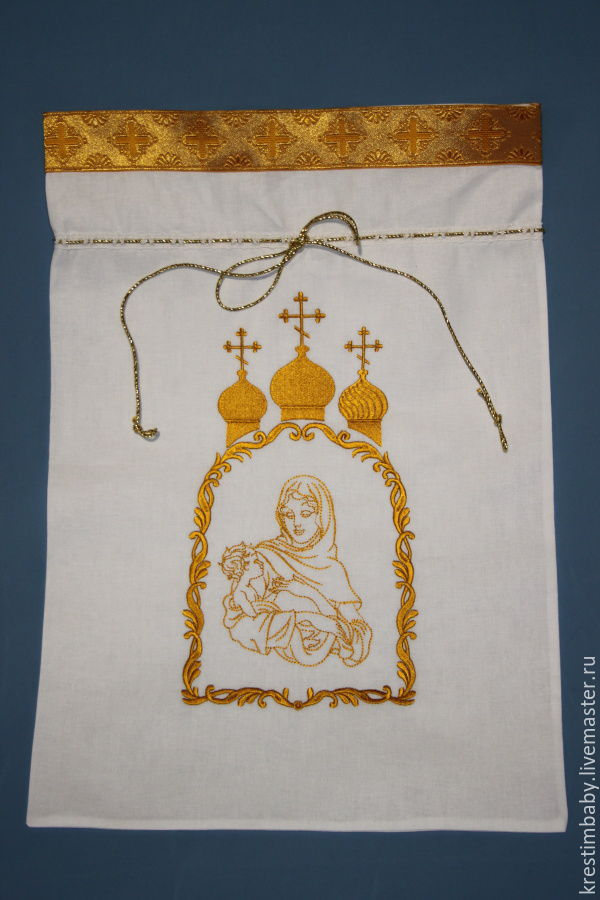 pouch for storing, Baptismal pouch, Moscow,  Фото №1
