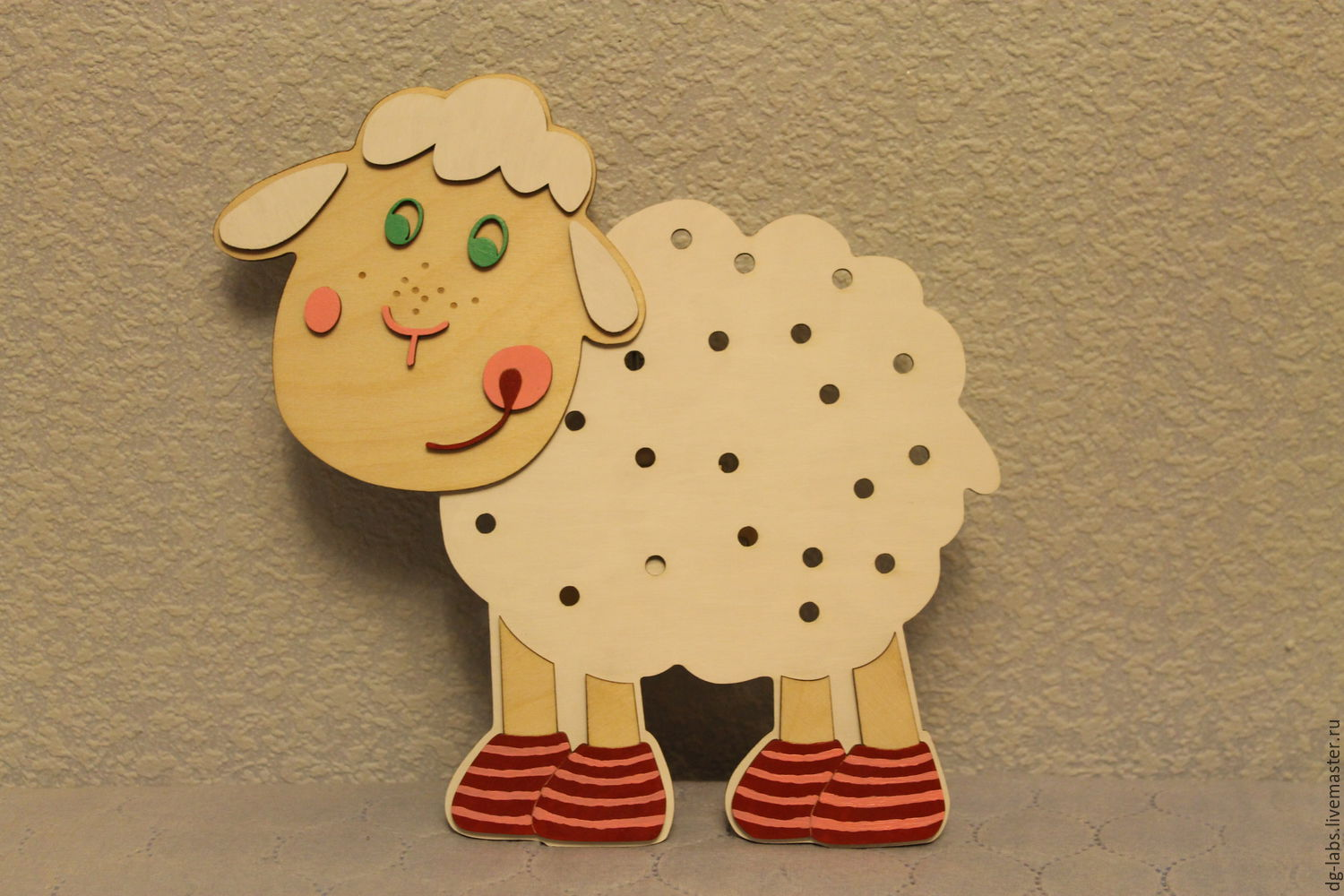 Wall lamp night light Sheep – shop online on Livemaster with ...