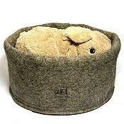Для дома и интерьера ручной работы. Ярмарка Мастеров - ручная работа Домик войлочный для кошки. Handmade.