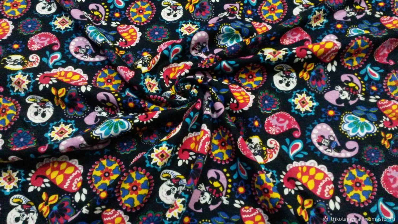 Кулирная гладь Минни в цветах, Шитье, Курган, Фото №1