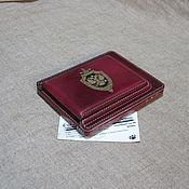 Канцелярские товары handmade. Livemaster - original item cover for identity. Organizer-purse. Personalized gift.. Handmade.