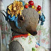 Куклы и игрушки ручной работы. Ярмарка Мастеров - ручная работа Мишка-тедди  Пелагея. Handmade.