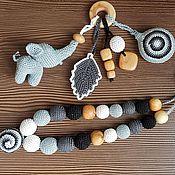 Работы для детей, ручной работы. Ярмарка Мастеров - ручная работа Слингобусы, грызунок, растяжка. Handmade.
