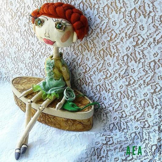 Коллекционные куклы ручной работы. Ярмарка Мастеров - ручная работа. Купить НИКОЛЬ Шарнирная текстильная кукла. Handmade. Шарнирная кукла