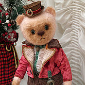 Куклы и игрушки ручной работы. Ярмарка Мастеров - ручная работа Мишка Франт. Handmade.