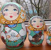 Русский стиль handmade. Livemaster - original item Matryoshka mushrooms
