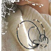 """Украшения ручной работы. Ярмарка Мастеров - ручная работа """"Бабочка темного леса"""". Handmade."""