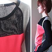 Одежда ручной работы. Ярмарка Мастеров - ручная работа Блуза (кофта), трикотаж. Handmade.