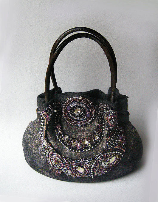 Handbags handmade. Livemaster - handmade. Buy Handbag.Fashion accessory, wool