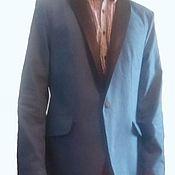 """Одежда ручной работы. Ярмарка Мастеров - ручная работа Мужской, джинсовый  смокинг  """" DENIM BLUES"""". Handmade."""