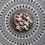 Для дома и интерьера handmade. Livemaster - original item The CHARM of mini-tablecloth. Handmade.