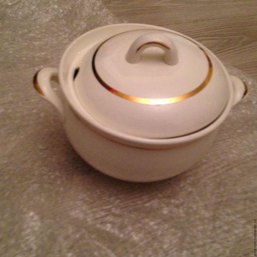 Винтажная посуда. Ярмарка Мастеров - ручная работа. Купить Супница винтажная на 3 л керамика. Handmade. Посуда, Кастрюля