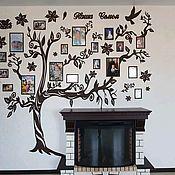 Сувениры и подарки handmade. Livemaster - original item Large Family tree with photo frames 210x250. Handmade.