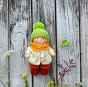 Вальдорфские куклы и звери ручной работы. Ярмарка Мастеров - ручная работа Вальдорфская кукла Пупс Осенний 17 см. Handmade.