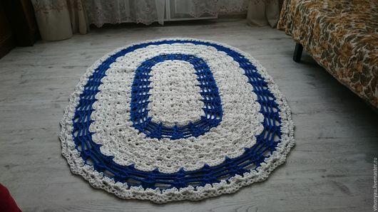 Текстиль, ковры ручной работы. Ярмарка Мастеров - ручная работа. Купить Ковер ручной работы. Handmade. Комбинированный, ковер на пол
