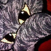 """Для дома и интерьера ручной работы. Ярмарка Мастеров - ручная работа Коврик """"Кот"""". Handmade."""