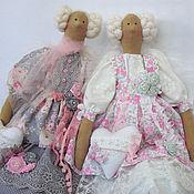 Куклы и игрушки ручной работы. Ярмарка Мастеров - ручная работа Ангел в стиле Шебби - Мелани. Handmade.