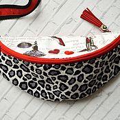 handmade. Livemaster - original item Bag on the belt