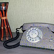 Для дома и интерьера ручной работы. Ярмарка Мастеров - ручная работа Арт-объект ТЕЛЕФОН винтажный. Handmade.