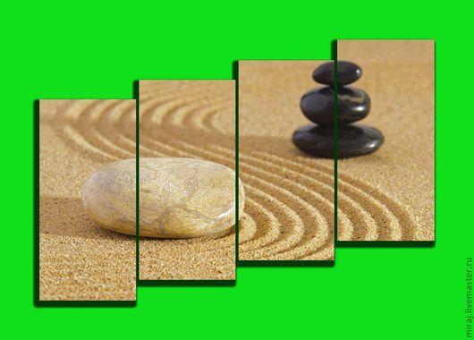 Японская тематика-камни на песке