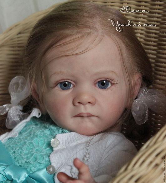 Куклы-младенцы и reborn ручной работы. Ярмарка Мастеров - ручная работа. Купить Милена. Handmade. Бирюзовый, елена ядрина