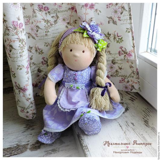 Вальдорфская игрушка ручной работы. Ярмарка Мастеров - ручная работа. Купить Вальдорфская кукла / Сонечка. Handmade. Вальдорфская кукла