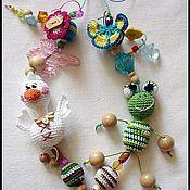 """Одежда ручной работы. Ярмарка Мастеров - ручная работа Слингобусы  с игрушкой """" Болотная фауна"""". Handmade."""