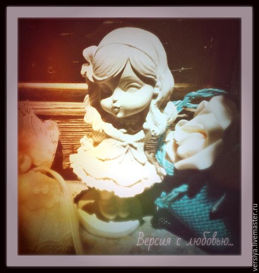 Куклы и игрушки ручной работы. Ярмарка Мастеров - ручная работа. Купить Кукла. Handmade. Белый, подарок для девочки