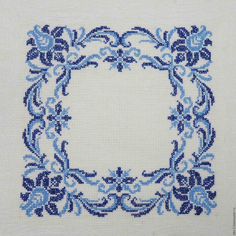 Вышивка крестом салфетки схемы фото 29