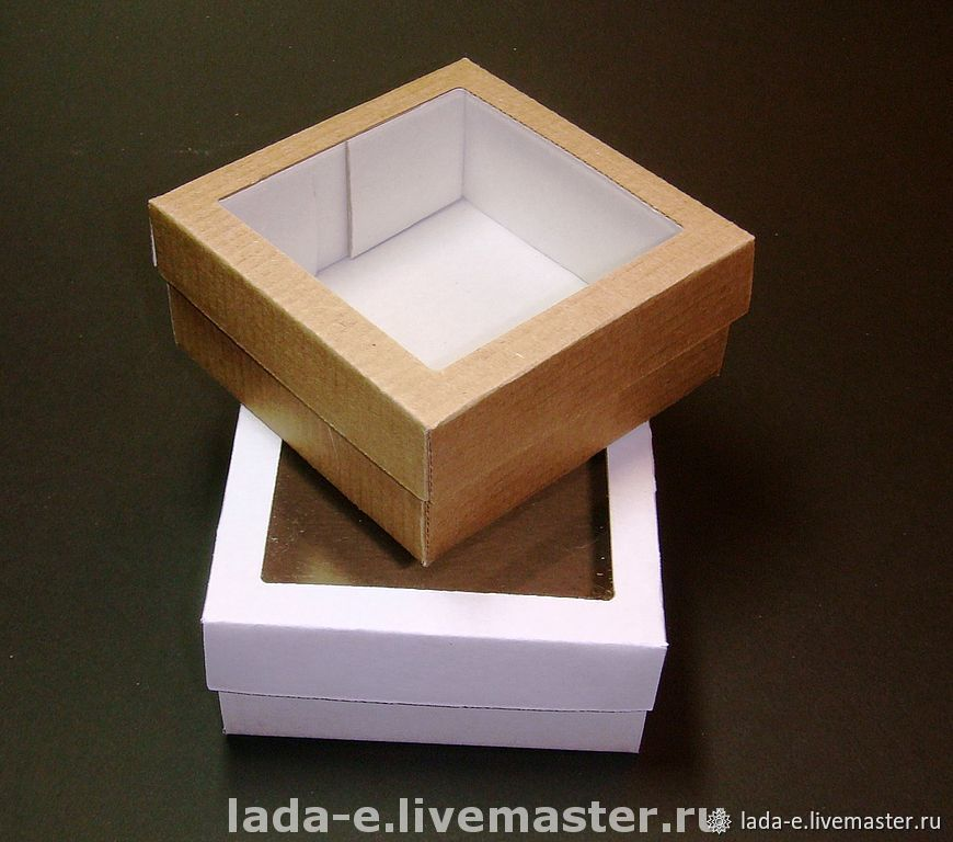 Box with window, Packing box, Moscow,  Фото №1