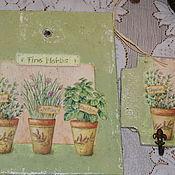 Для дома и интерьера ручной работы. Ярмарка Мастеров - ручная работа набор,,Травы-2,,. Handmade.