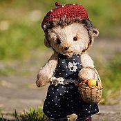 Куклы и игрушки ручной работы. Ярмарка Мастеров - ручная работа Ежиха Капа. Handmade.