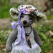 Куклы и игрушки handmade. Livemaster - original item Mouse friend Teddy. Handmade.