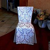 Для дома и интерьера ручной работы. Ярмарка Мастеров - ручная работа Чехол на стул - классика (2). Handmade.