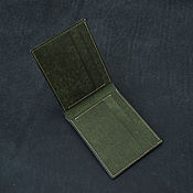 Сумки и аксессуары handmade. Livemaster - original item Wallet genuine leather. Handmade.